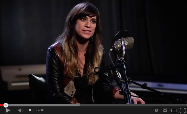 "Nicole Atkins - ""Bird on a Wire""