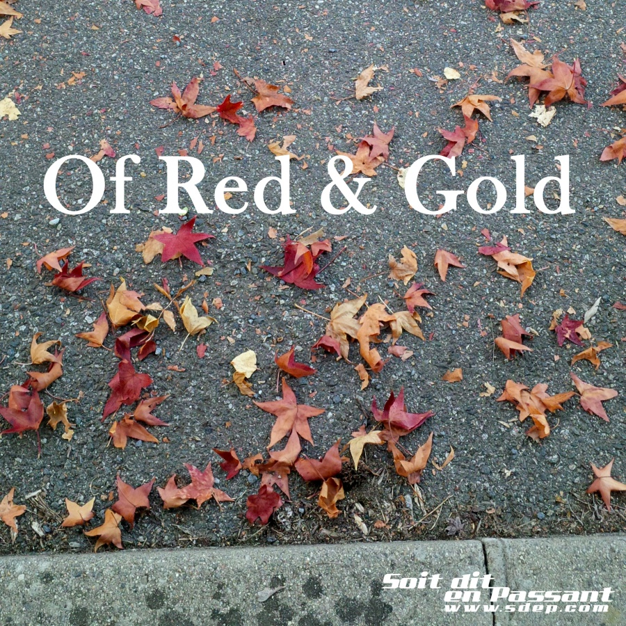 Of Red & Gold